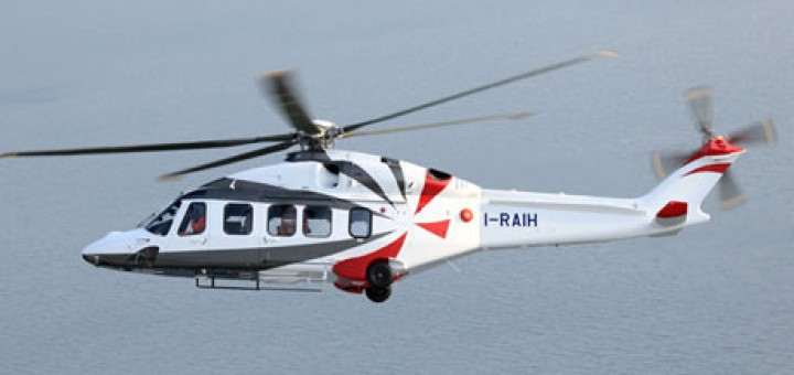 AgustaWestland AW189 in flight