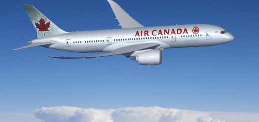 Air Canada 787-inside