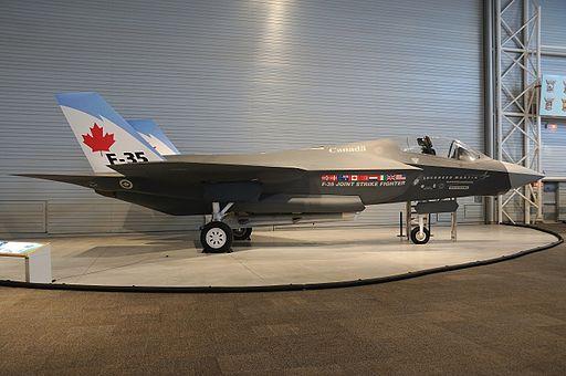 Lockh eed Martin F-35 Lightning II (mock-up), Canada - Air Force AN1753011