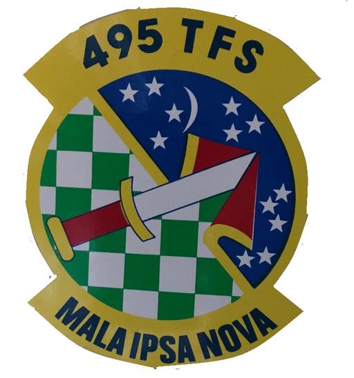 495th Tactical Fighter Squadron - Emblem