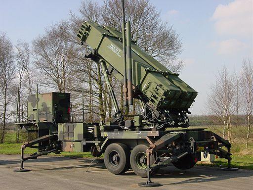 Dutch Patriot PAC-3 installation