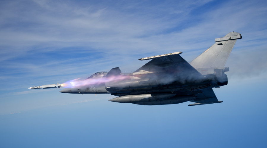 Mica fired from Rafale