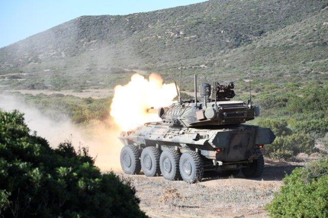 3. Blindo Armata Centauro 2 in azione (002)