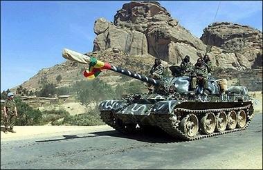 Ethiopian Tank in Somalia