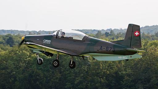Pilatus P3 P3-Flyers HB-RCL OTT 2013 02