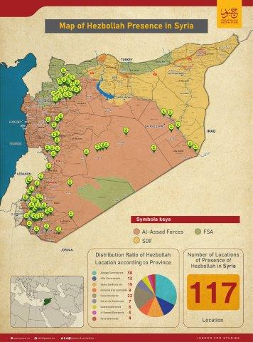 Map of Hezbollah Presence in Syria-0١