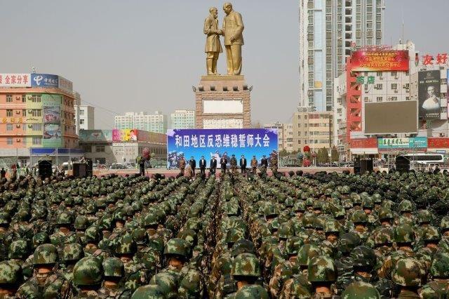 Truppe cinesi