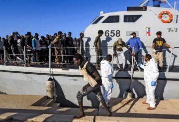 AFP Gusrdia Costiera libica