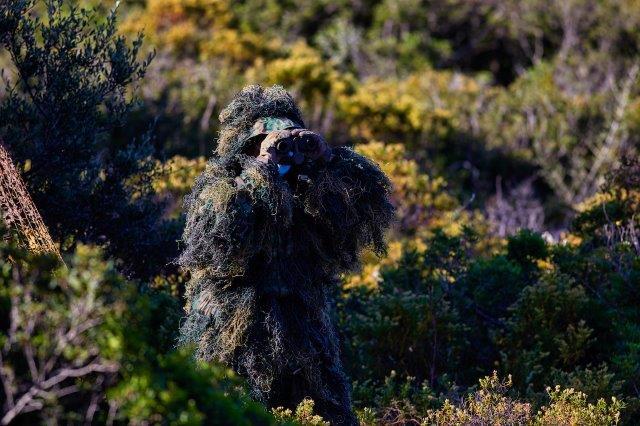 Foto 7 Un Osservatore del fuoco in un momento dell'esercitazione (002)