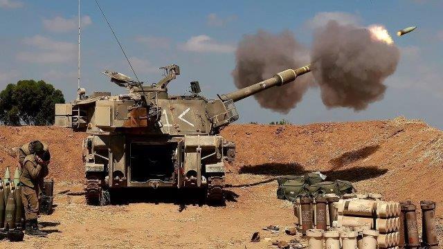 israel-artillery