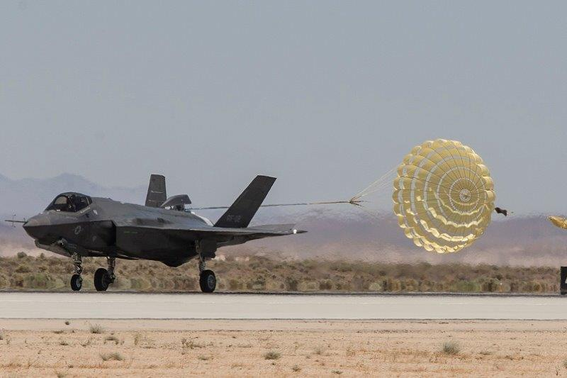 6. F-35A Norway Chute Test
