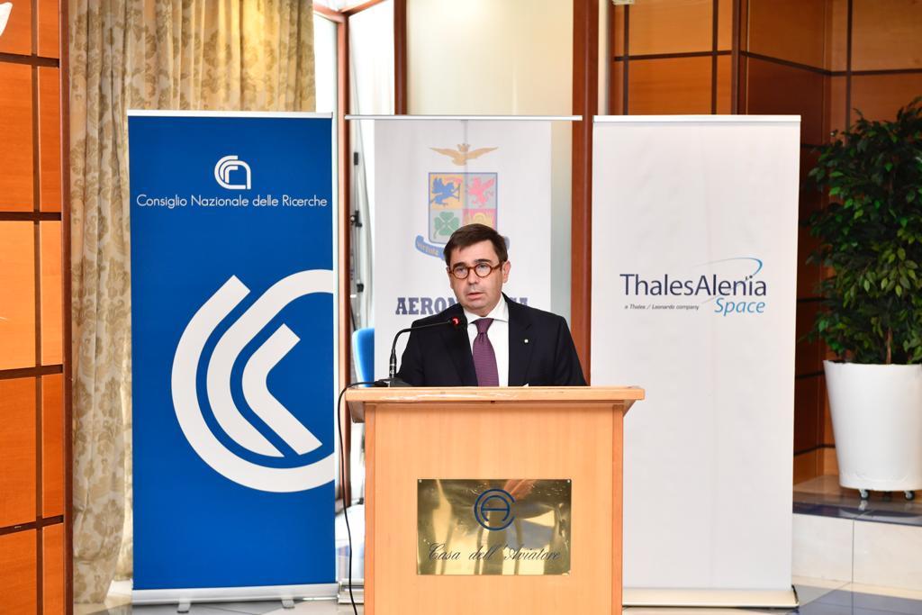 ling. Massimo Claudio Comparini Amministratore delegato di Thales Alen.._ (002)