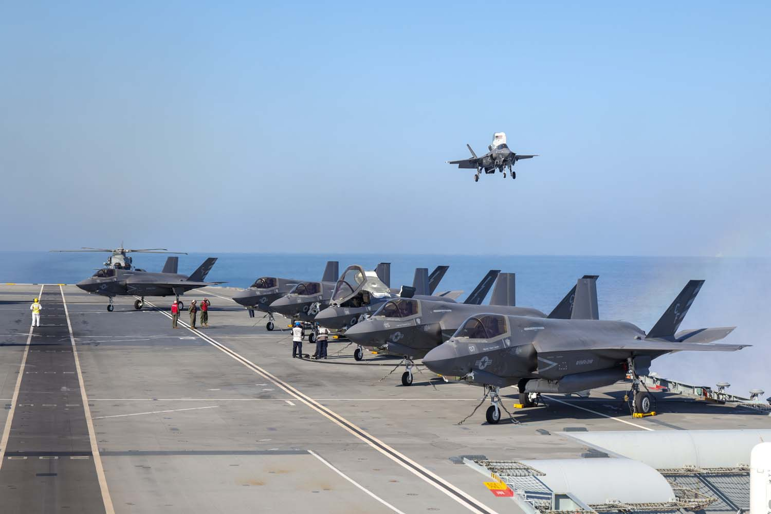 Some of the highlights from the UK's Carrier Strike Group deployment so far